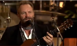 Sting at Durham Cathedral England
